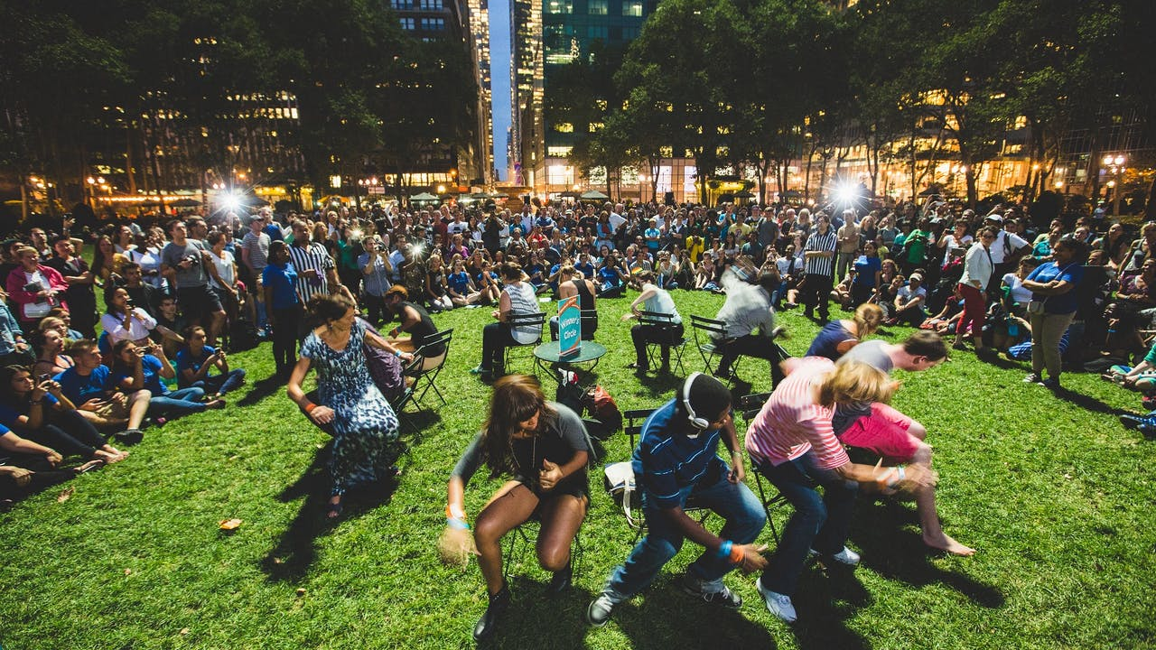Musical chair game rules - Join Bryant Park For The Sixth Annual Epic Game Of Musical Chairs Featuring The Park S Iconic Green Bistro Chair