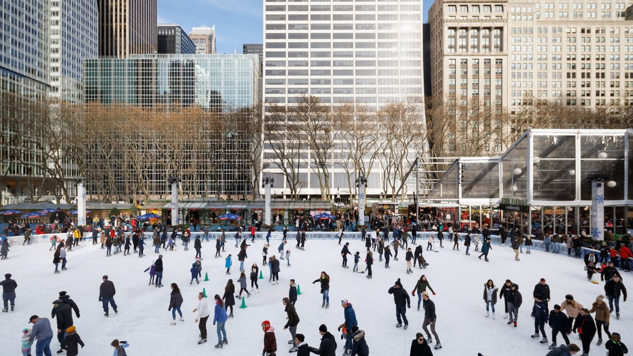 Bryant Park - Amenities on