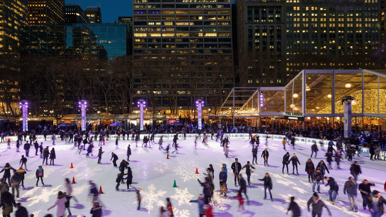 Bank Of America Christmas 2020 Bryant Park   Amenities
