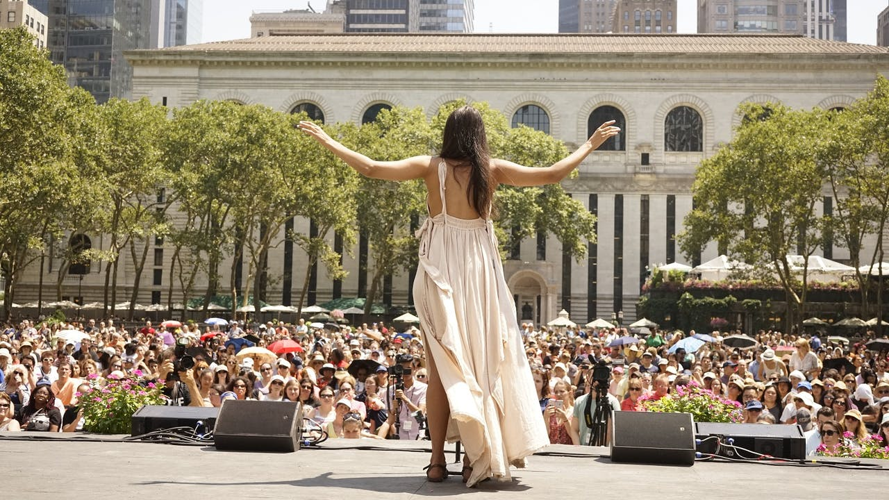 Image result for The best of Broadway performs outdoors in the park