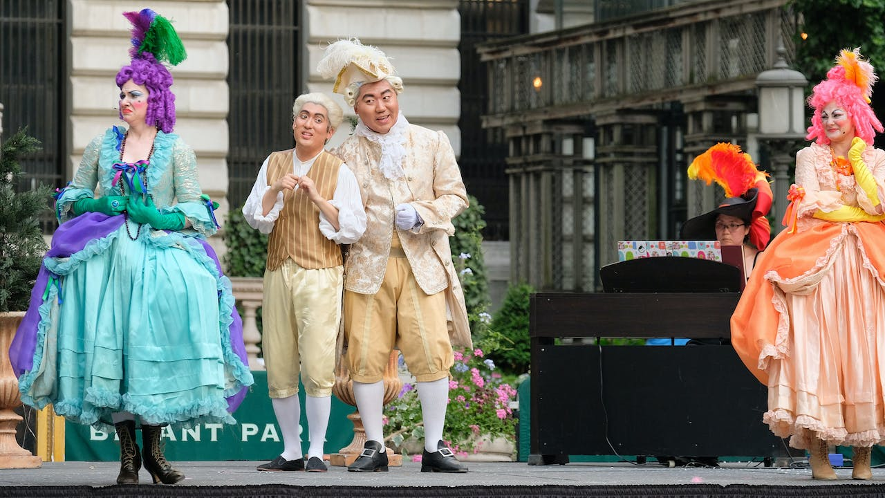 New York City Opera Holds Pride In The Park Event At >> Bryant Park Programs